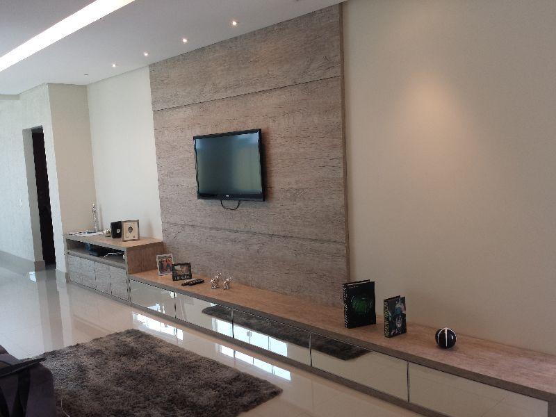 Sala de tv planejada moderna id ias for Salas de television modernas
